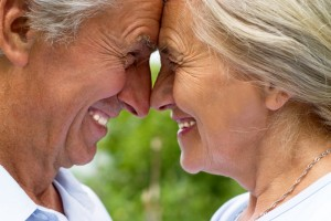 shutterstock_71745715 old couple nose to nose